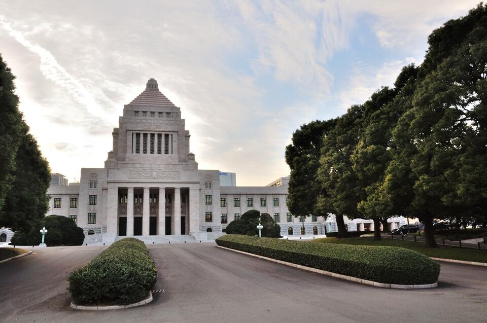 国会議事堂内ツアー写真