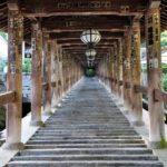 奈良長谷寺の登廊写真撮影