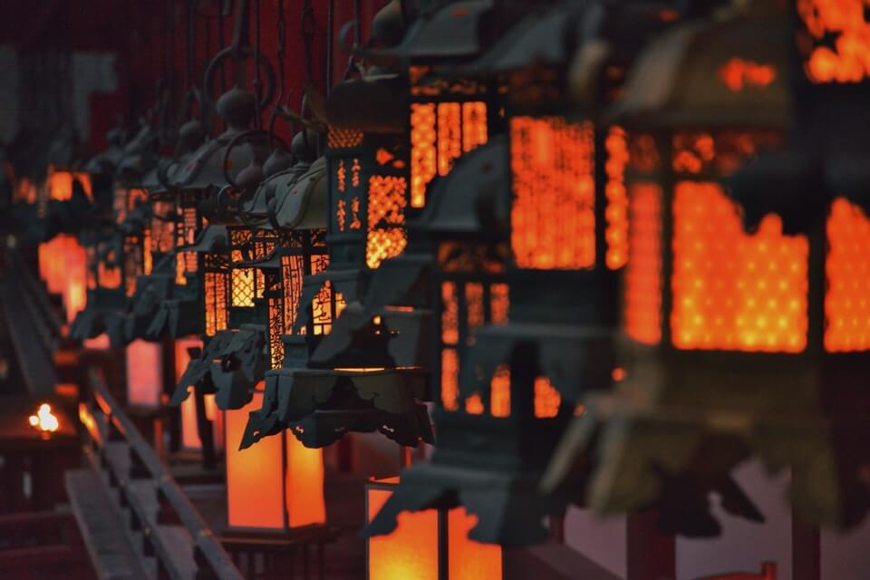 春日大社・万燈籠の写真