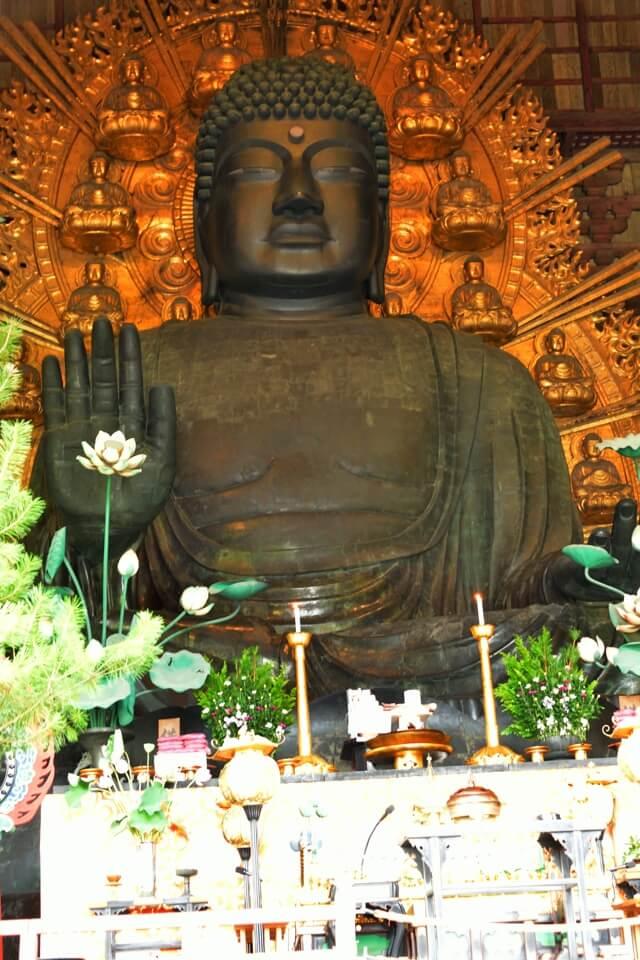 東大寺大仏殿の写真