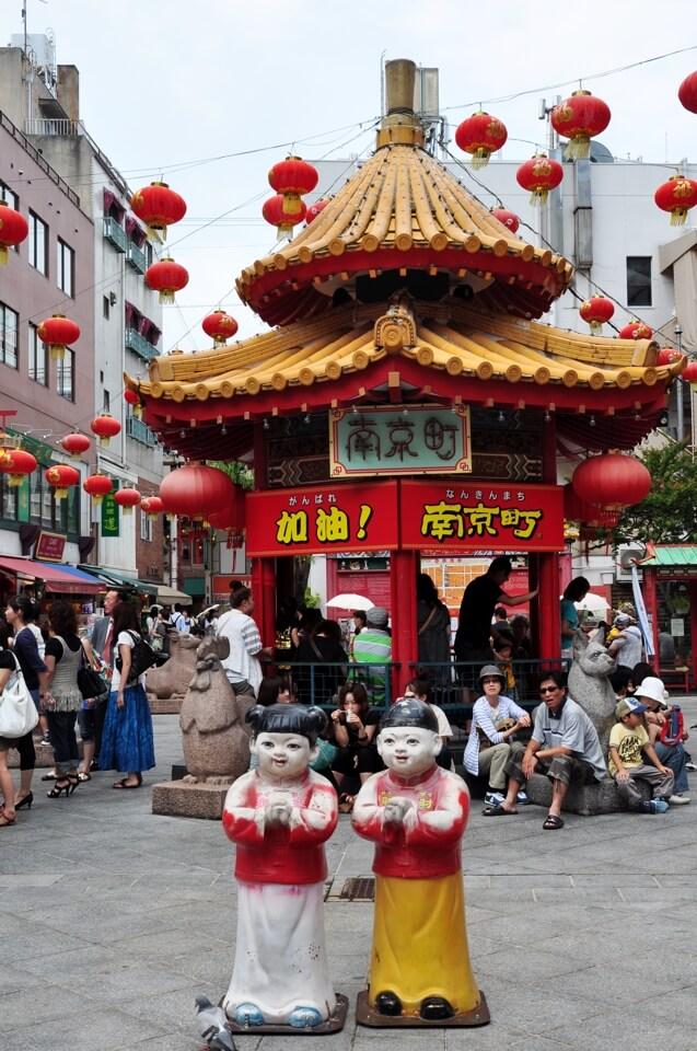 神戸元町中華街・南京町の写真