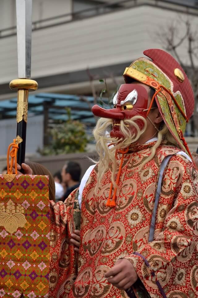 豊年祭・田縣神社の写真