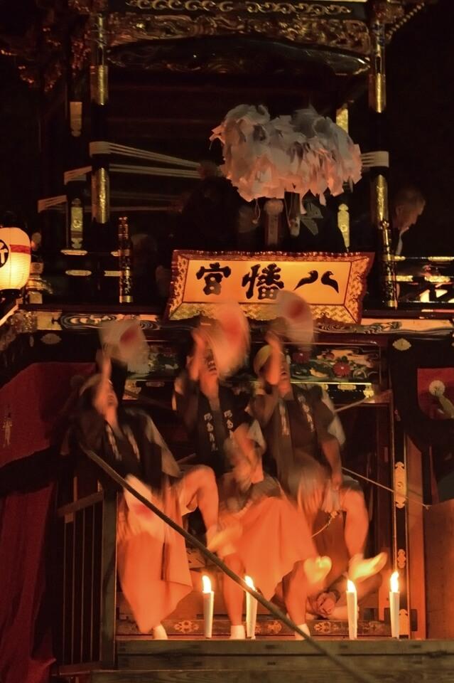 足助まつり・足助八幡宮の山車の写真