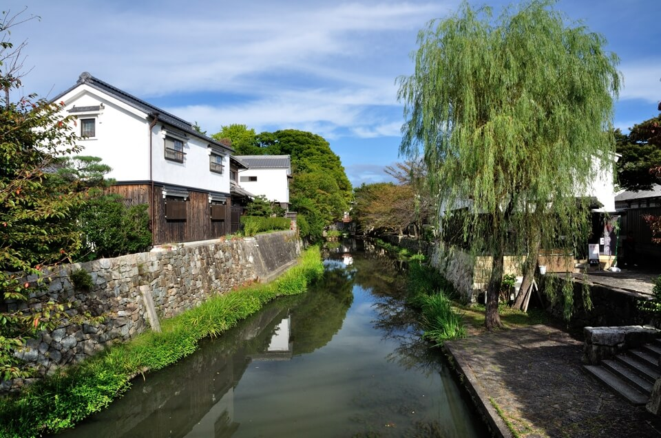 近江八幡堀の写真