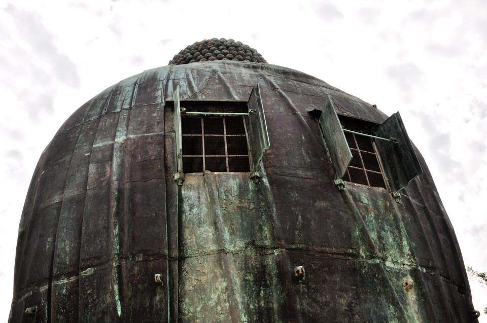 鎌倉の大仏の大きさ11mの写真