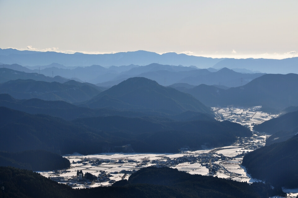 面ノ木原生林の樹氷写真