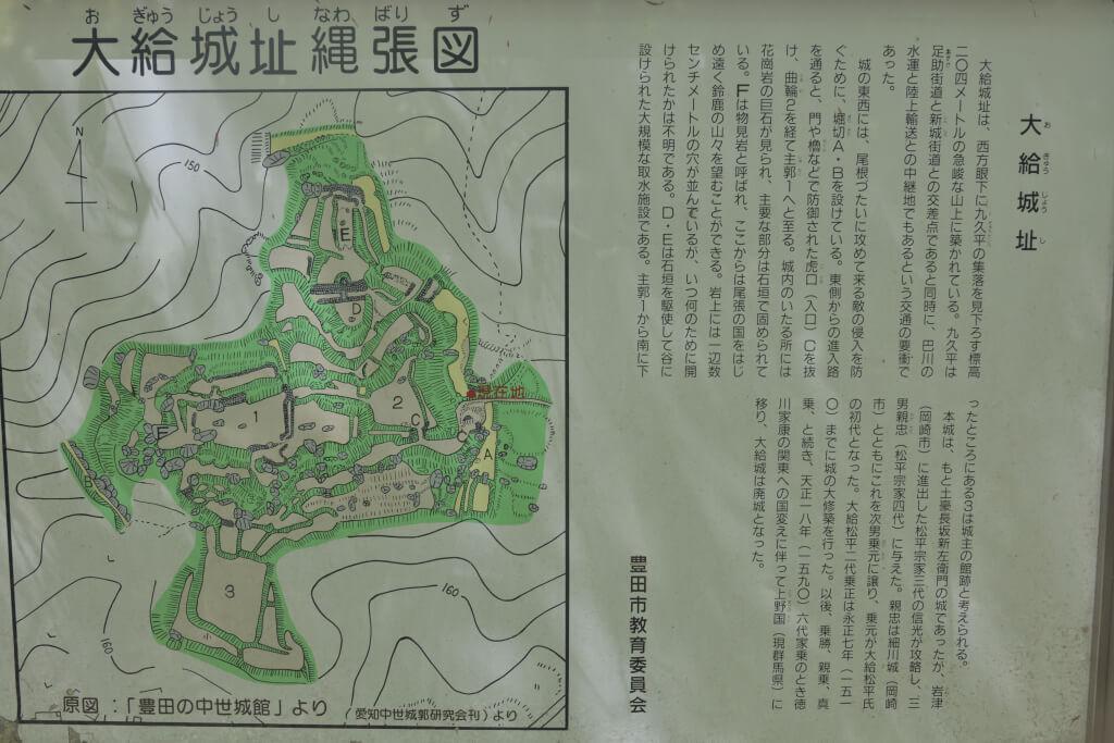 大給城の写真