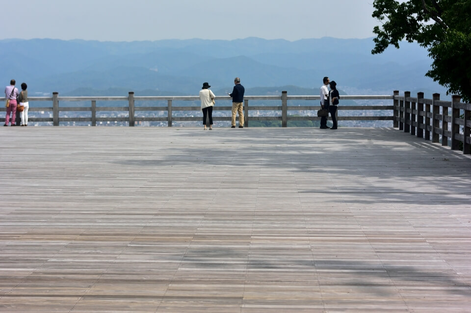 将軍塚・清水山大舞台の写真