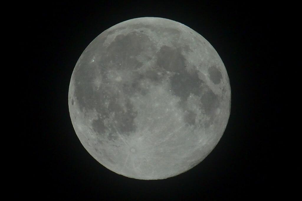 5月満月フラワームーン写真