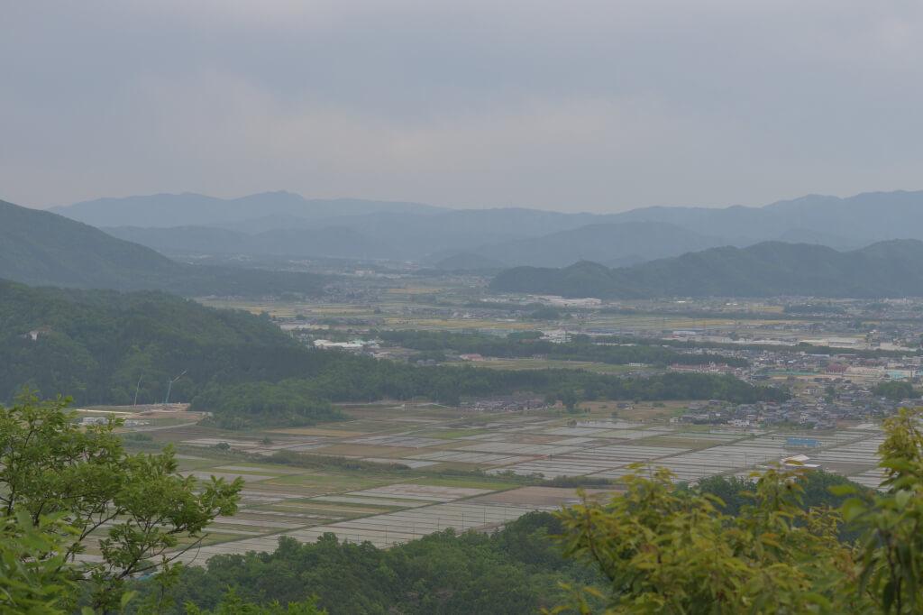 小谷城跡の写真