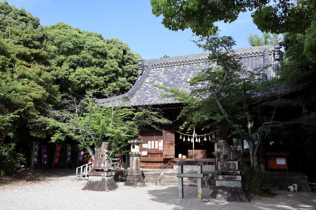 洲原神社写真