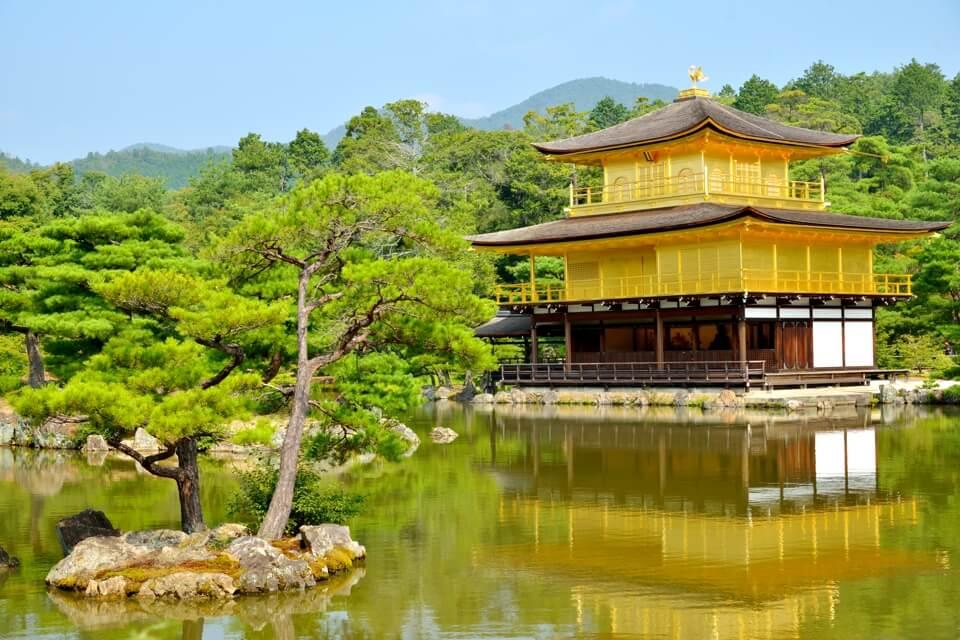 金閣寺画像