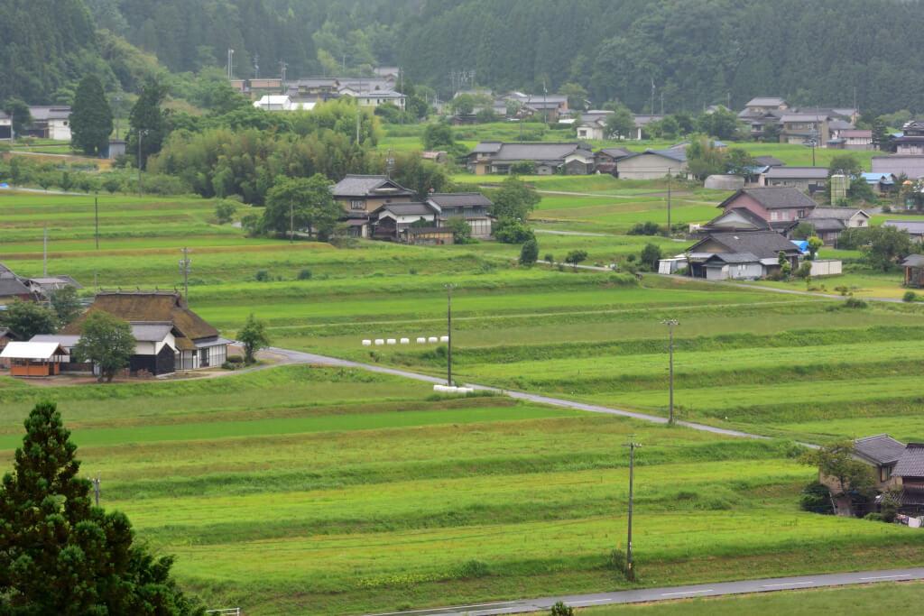 農村日本一景観展望所の写真