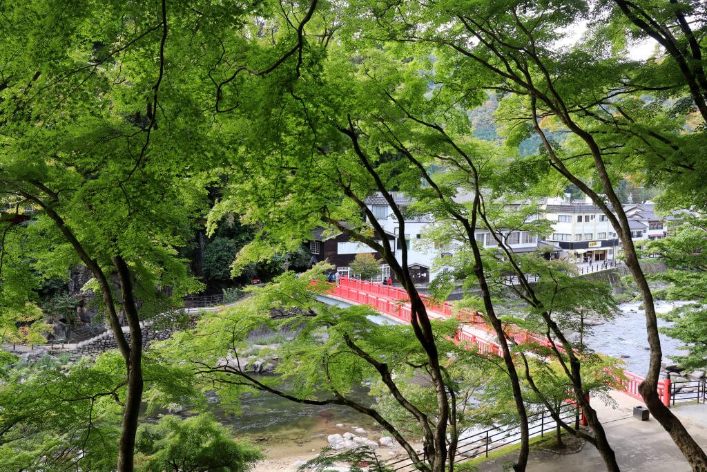 香嵐渓ランニング写真