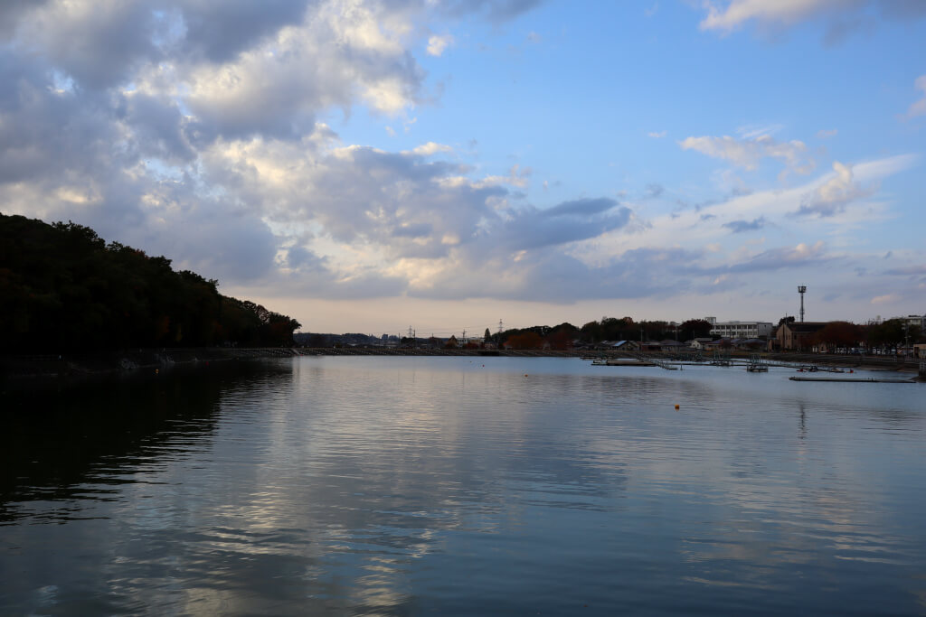 保田ヶ池公園ウォーキング写真