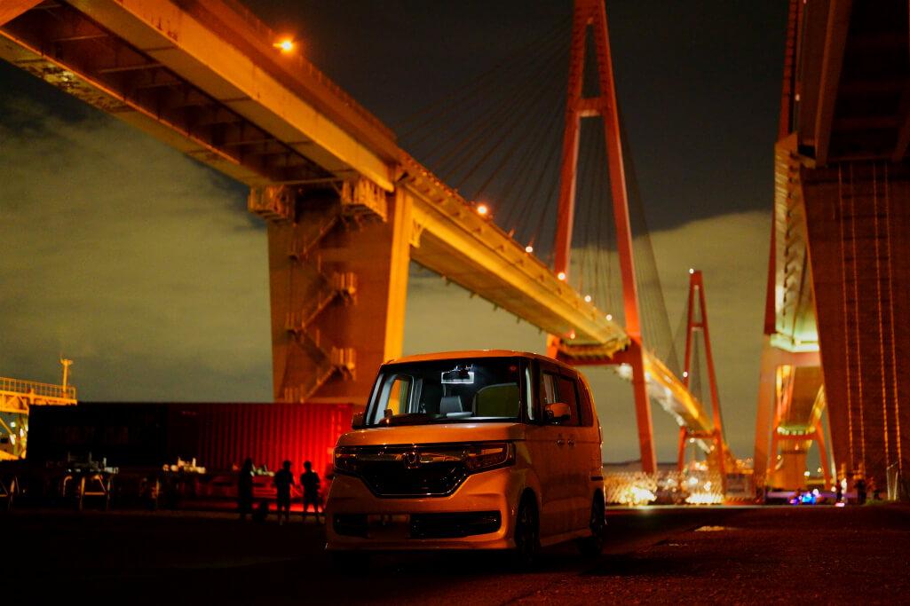 名港トリトン夜景写真