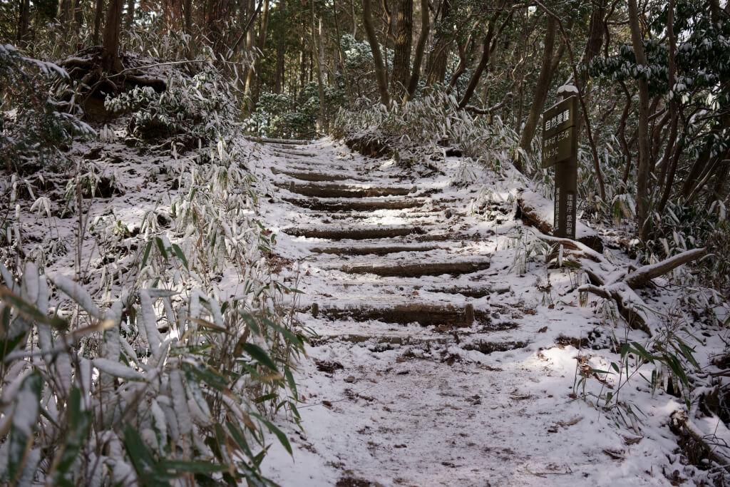 猿投山雪写真