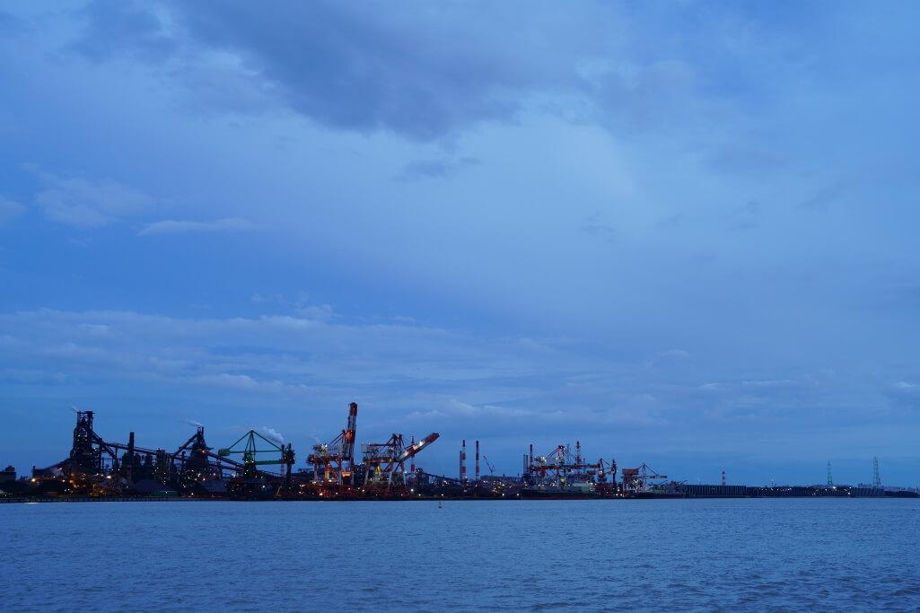 名古屋港9号地南堤写真