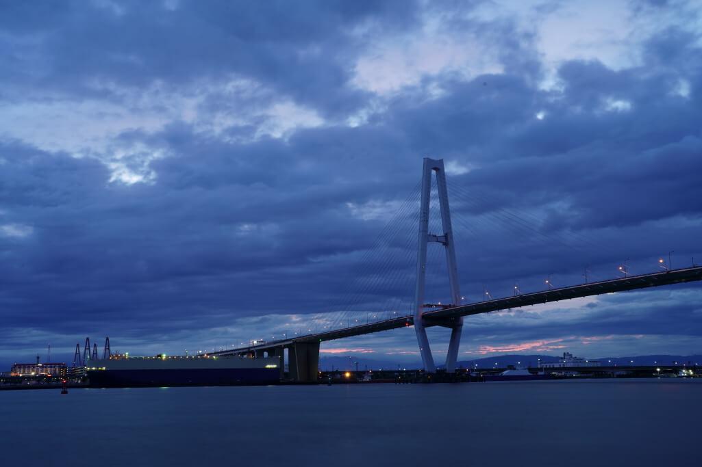 名港中央大橋写真